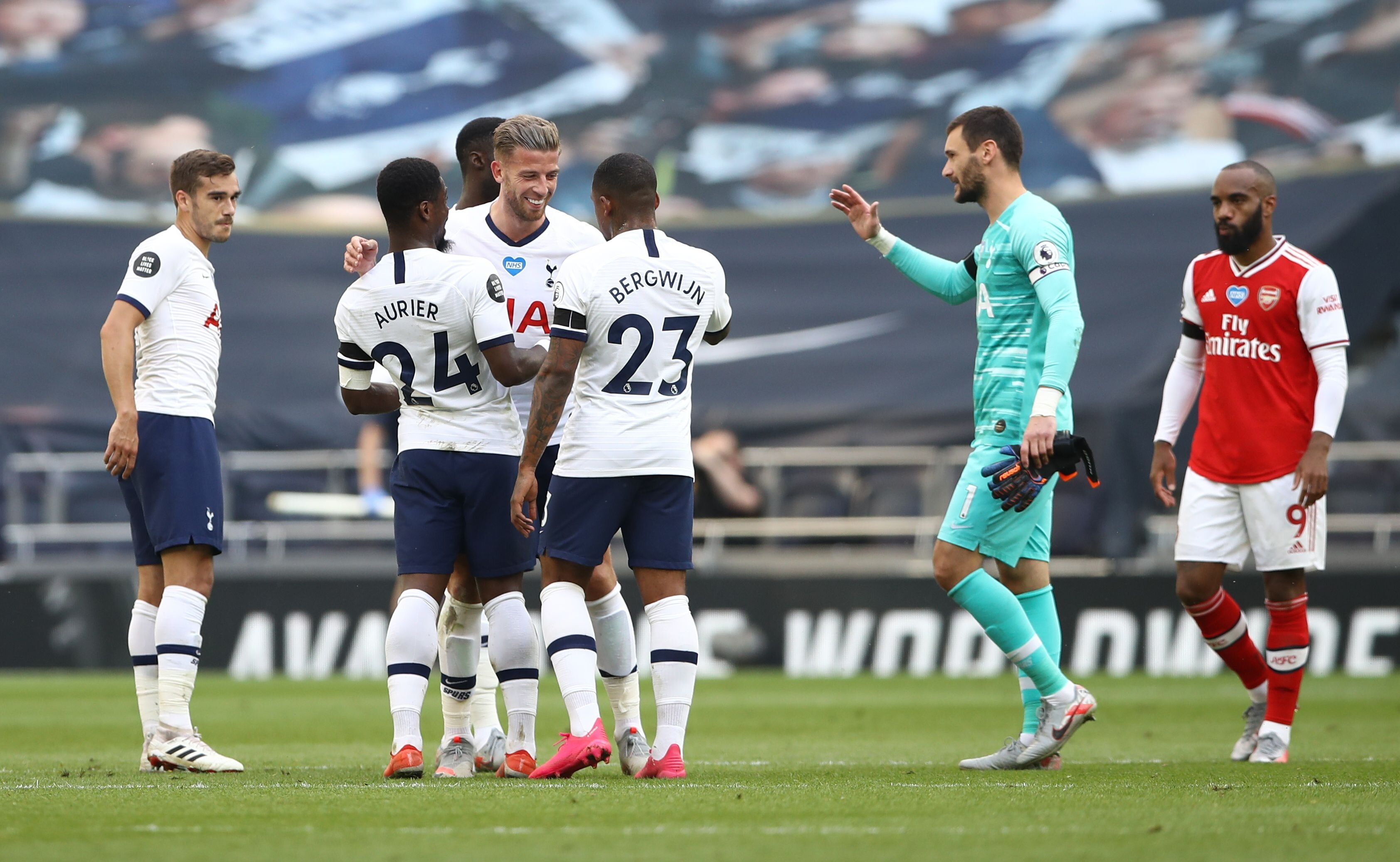 İngiltere Premier Lig Tottenham Arsenal özet Tottenham Arsenal 2-1 maç özeti