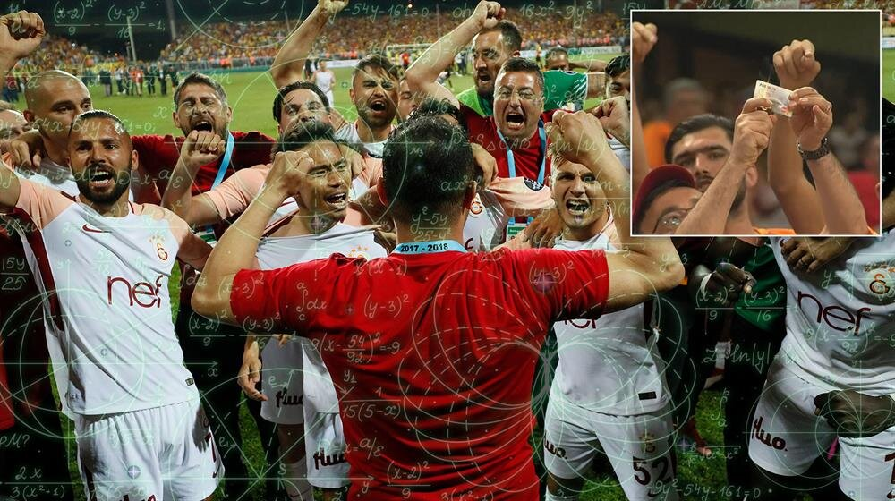 Galatasaray, 2017-2018 sezonunu şampiyonlukla tamamladı.