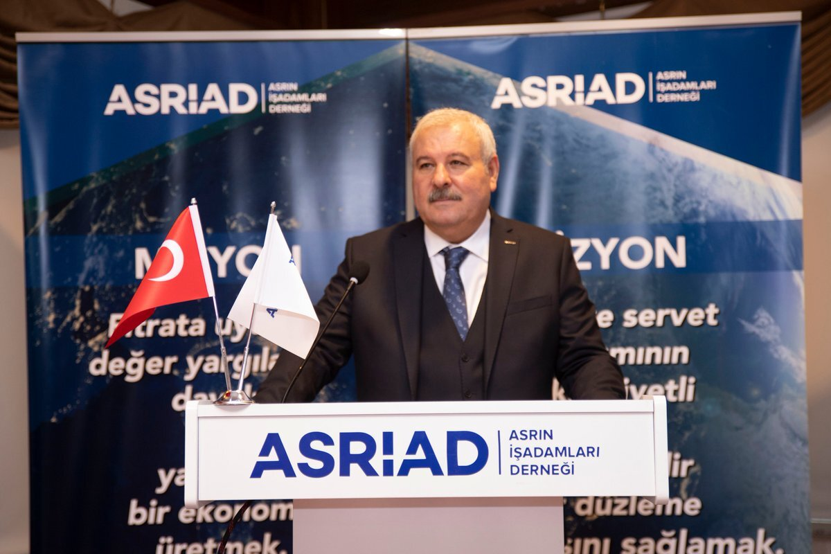 Asrın İşadamları Derneği (ASRİAD) Genel Başkanı Adnan Danışman ile ilgili görsel sonucu