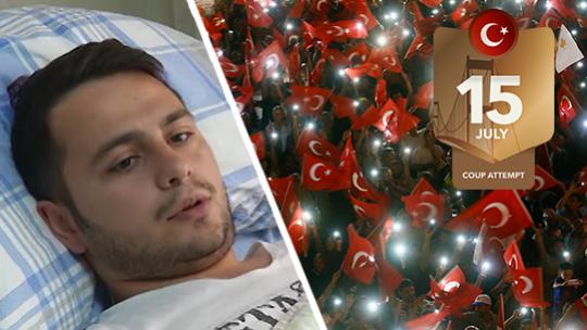Bilal Davut Hasetci was held hostage at TÜRKSAT