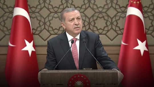 Erdoğan: My people are on the streets and I should be among them