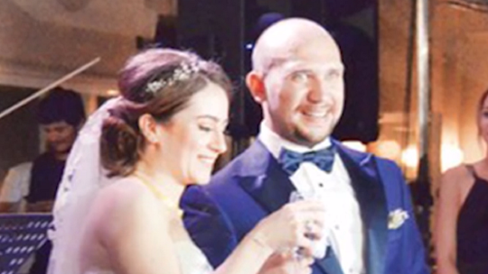 Wedding raid on the command echelon