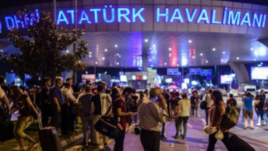 Оккупирован Аэропорт Ататюрк