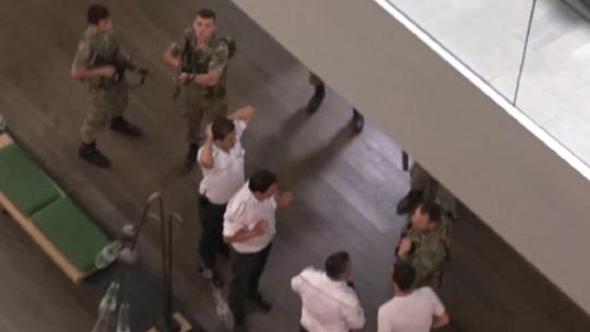 Вмешательство путчистами в вещание телеканала CNN Türk