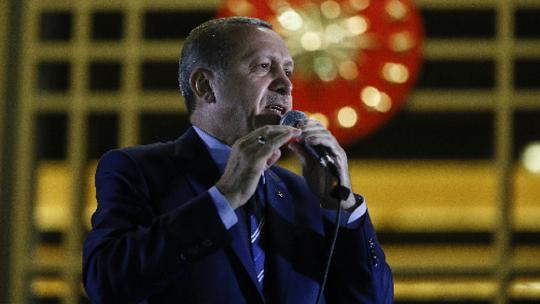 Erdoğan's speech at the Presidential Palace Complex