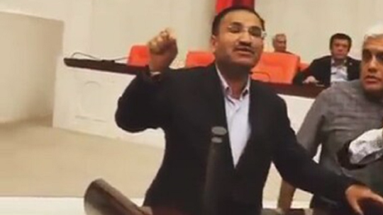 Bekir Bozdağ: The thing for us to do here is die!