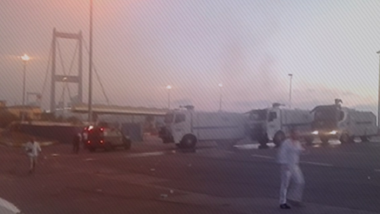 На Босфорском мосту путчисты стреляли из артиллерии по народу