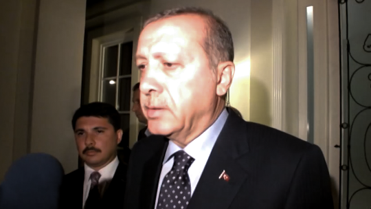 Erdoğan'ın ilk açıklaması