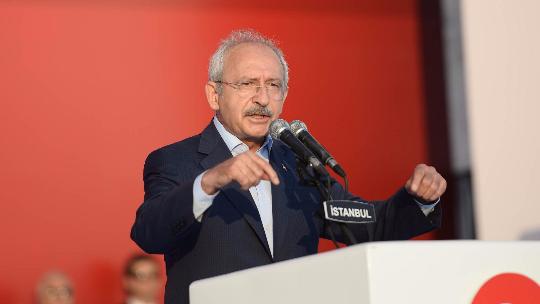 Kılıçdaroğlu'nun Yenikapı konuşması