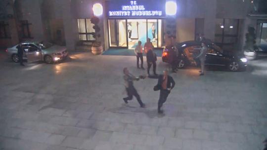 Именно так,  отделение полиции Стамбула остановила путчистов