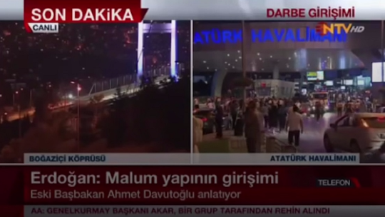Former PM Davutoğlu evaluated the coup attempt on NTV