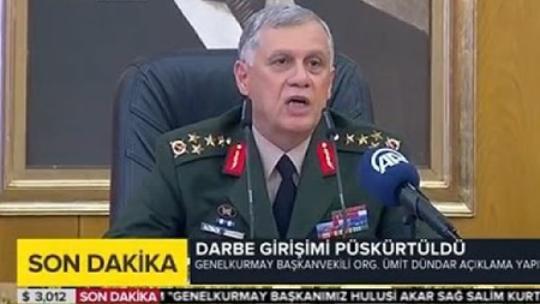 1. Ordu Komutanı'ndan son dakika açıklaması
