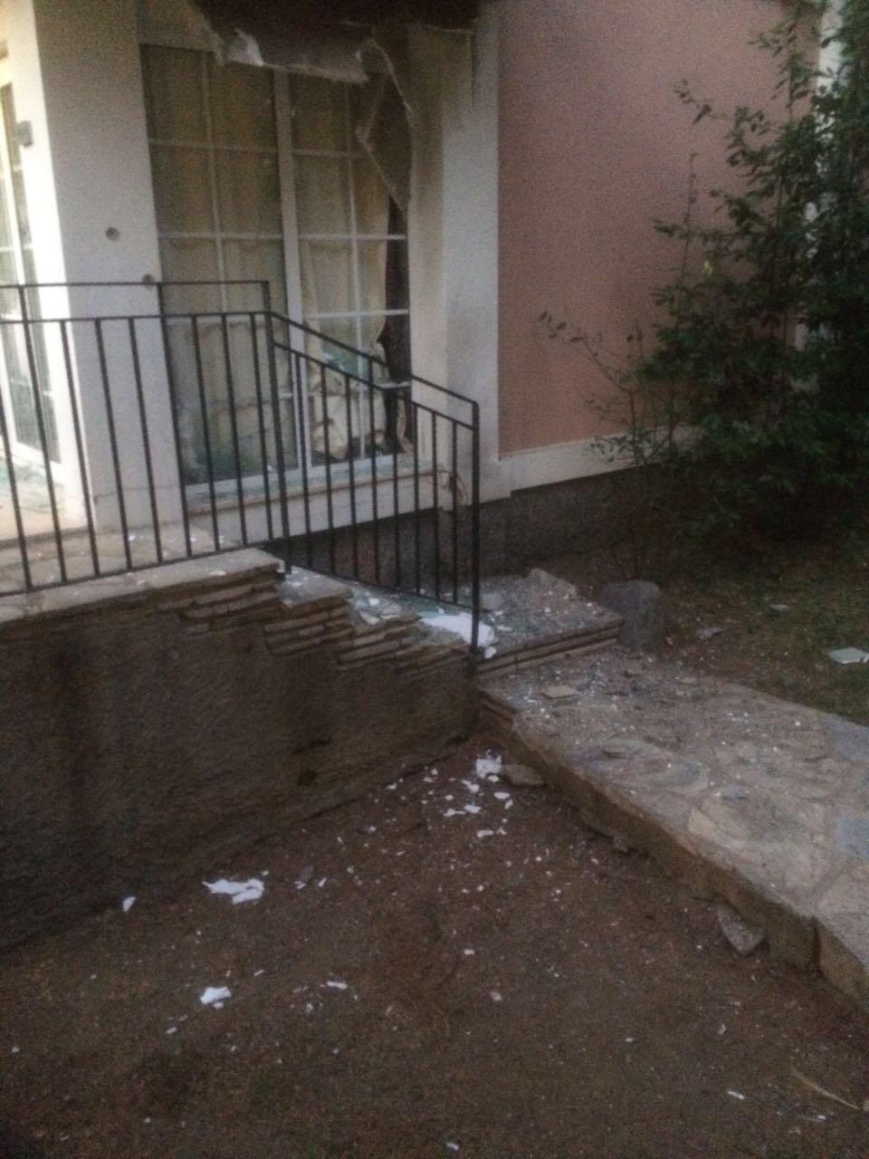 Erdoğan'ın kaldığı otele yapılan saldırıda odalar adeta kurşun yağmuruna tutuldu.