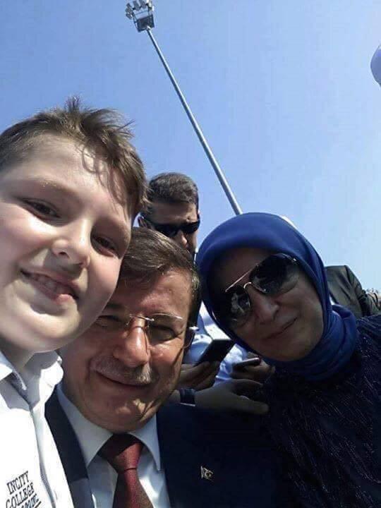 Ahmet Davutoğlu ve Eşi Sare Davutoğlu
