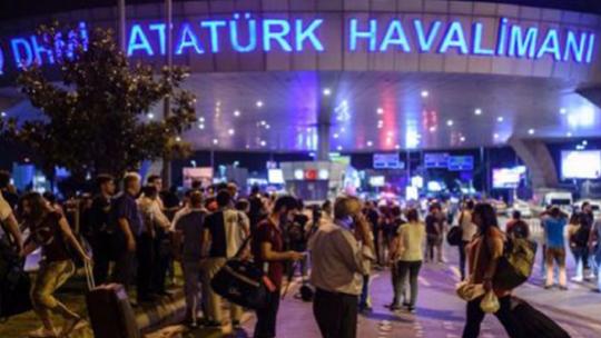 Atatürk Airport under occupation