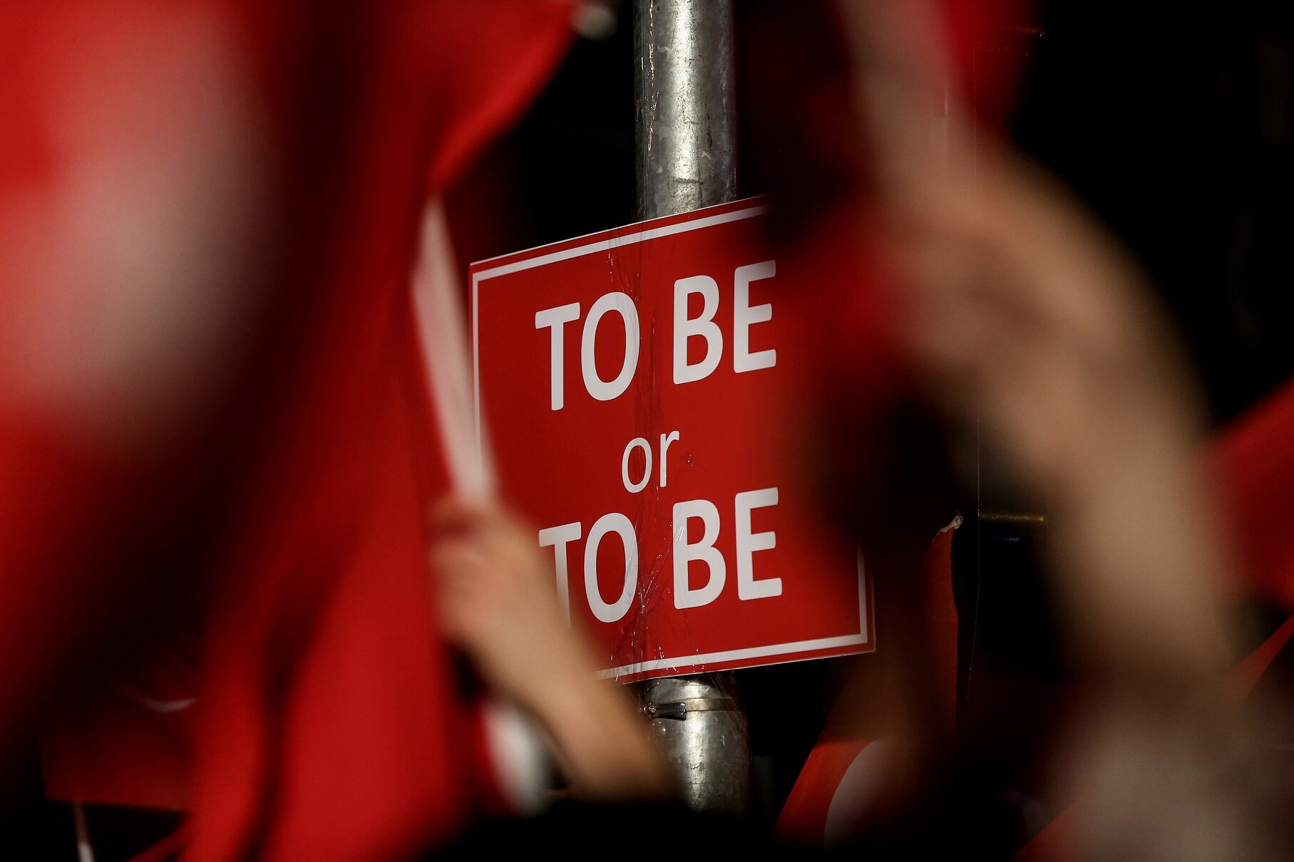 """British poet and author Shakespeare's famous saying, """"To be or not to be."""""""