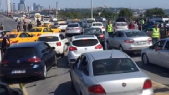 The FSM and the Bosphorus Bridges returned to normal