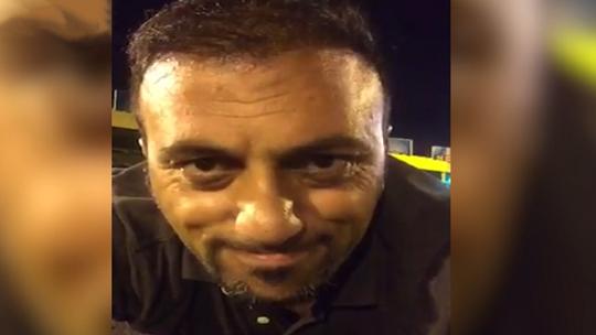 Новое видео с 15-го июля: Мужчина, смеющийся над пулями