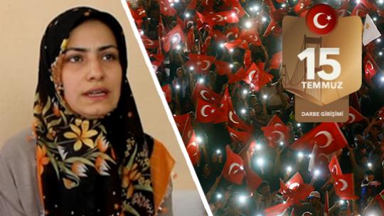 Evlat benim şehit tüm Türkiye'nin