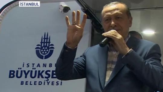 Erdoğan Kısıklı'da halka seslendi