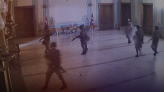 A raid against the Istanbul Governorate