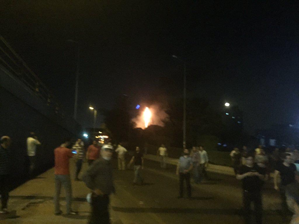 15 Temmuz gecesi darbeci askerler Ankara Emniyet Müdürlüğü'ne 6 tank, Skorsky helikopter ve F-16 ile saldırdı.