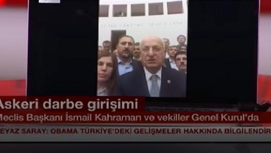 Исмаил Кахраман в прямом эфире NTV