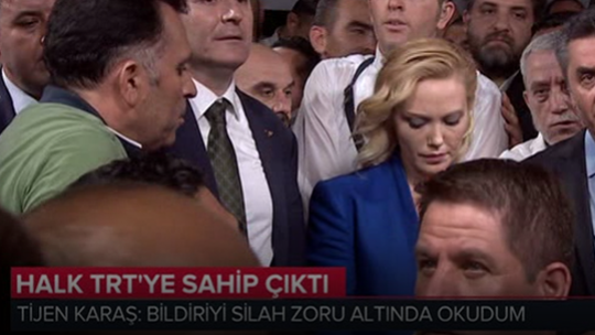 Halk TRT'ye sahip çıktı