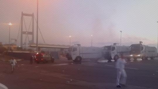 Putschists shelled civilians on the Bosphorus Bridge