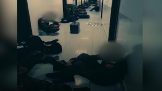 Моменты полные страха, в ночь переворота в Академии Военнно-воздушных сил