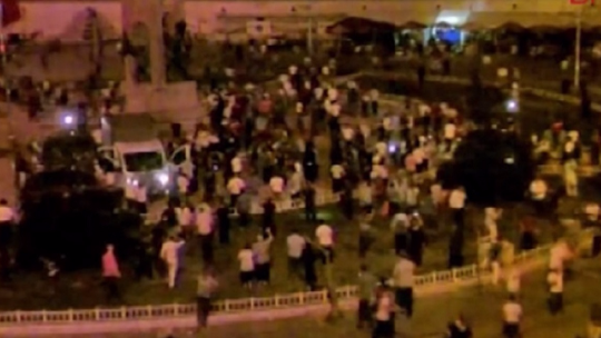 Bloody struggle in Taksim