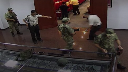 Striking footage of the coup attempt in Ankara