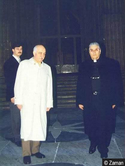 Gülen was invited to the Vatican in 1998 through Vatican's Istanbul Representative George Marovich.