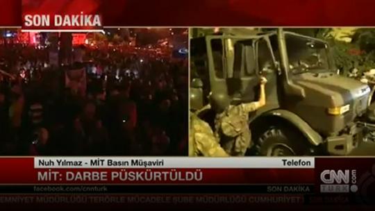 Национальное Разведывательное Управление (MİT): Госпереворот отражен