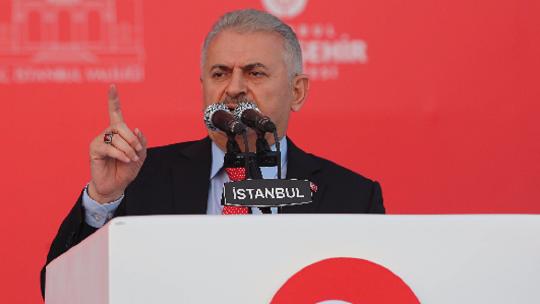PM Yıldırım's 'Yenikapı' speech