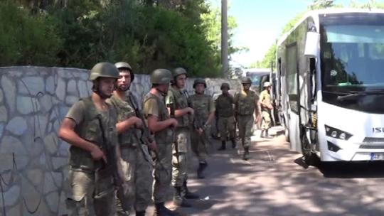 Пойманы 2-е военных из группы покушения