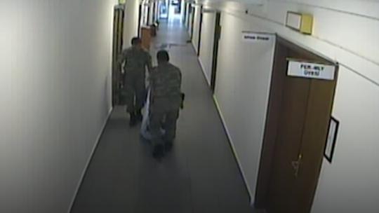События во 2-ой Армии, в ночь военного переворота, на камерах видеонаблюдения