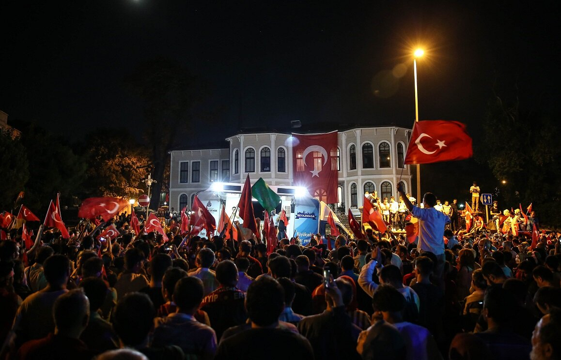 """""""Our armed forces will advance toward a point that is fit for itself. I also would like to thank the judiciary very much, because all across the country, the judiciary, in cooperation with the national police, has ruled for the detention of these people regardless of their names, posts or ranks."""""""