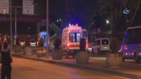 Ambulance sirens heard at the General Staff Headquarters