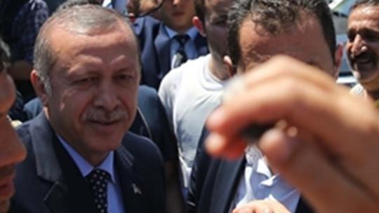 Erdoğan nerede, halk orada!