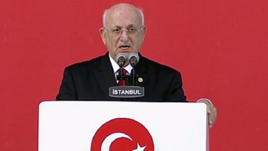 İsmail Kahraman's speech
