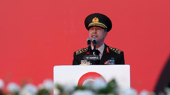 Akar's Yenikapı speech