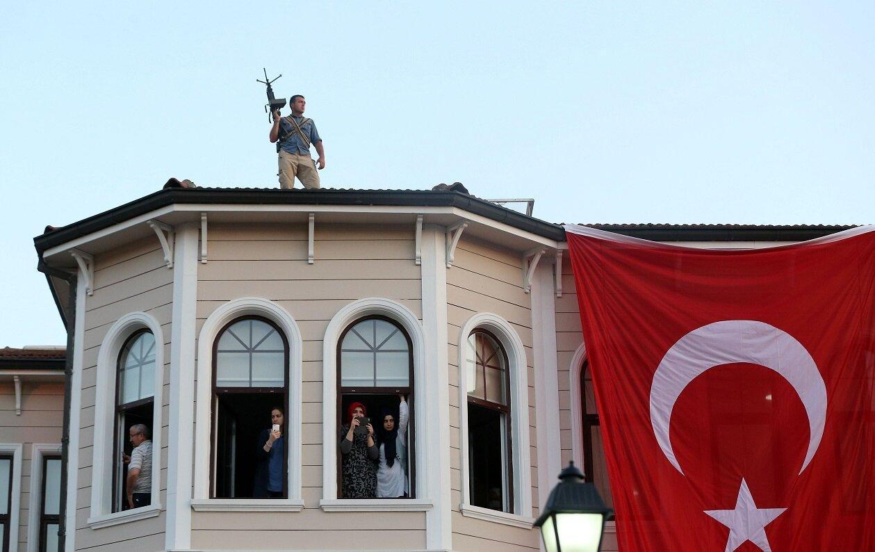 Strict security measures were taken to protect President Erdoğan.