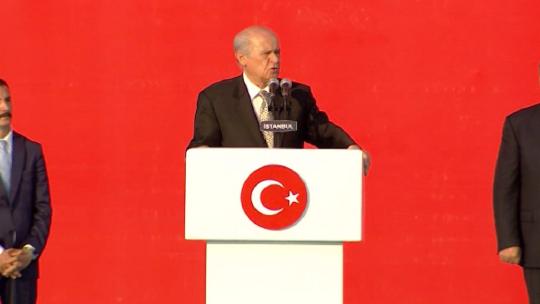 Bahçeli's 'Yenikapı' speech