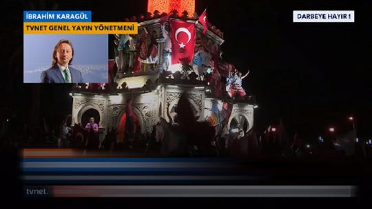 Ибрагим Карагюл отреагировал на переворот в эфире канала TVNET