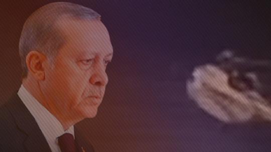 Самолет Эрдогана вылетел из Даламана